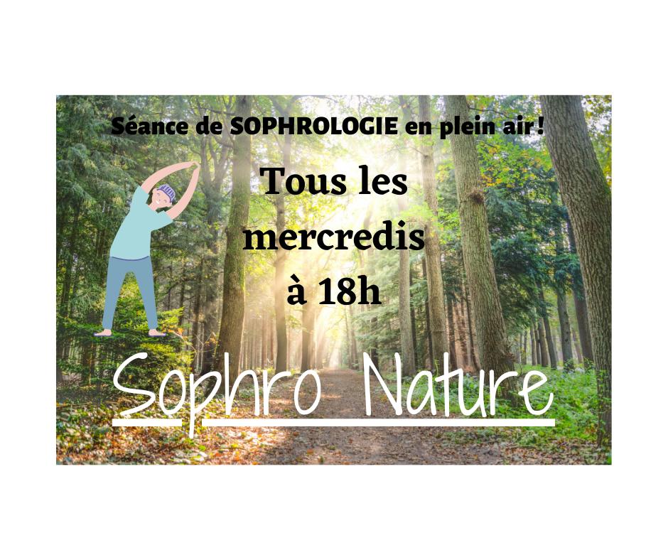 Sophrologie en pleine nature